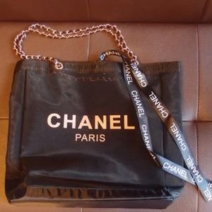 2017 Chanel VIP Gift- Mesh Tote in Rose Gold
